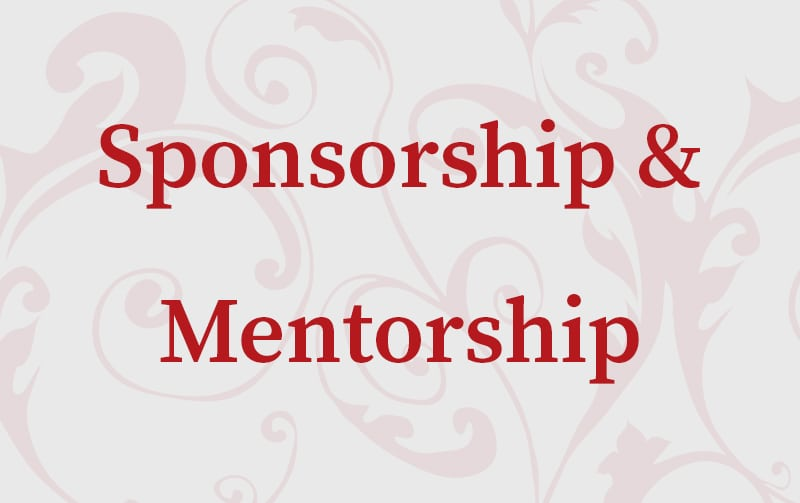 Sponsorship & Mentorship